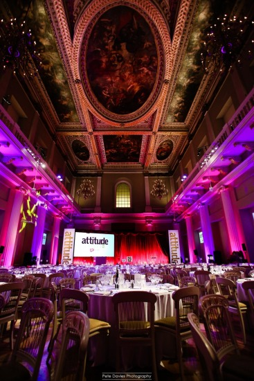 The beautiful Banqueting Hall